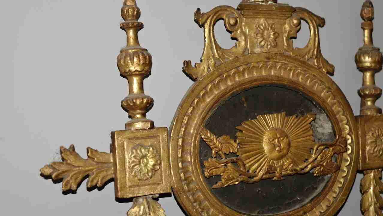 specchiera dorata neoclassica25