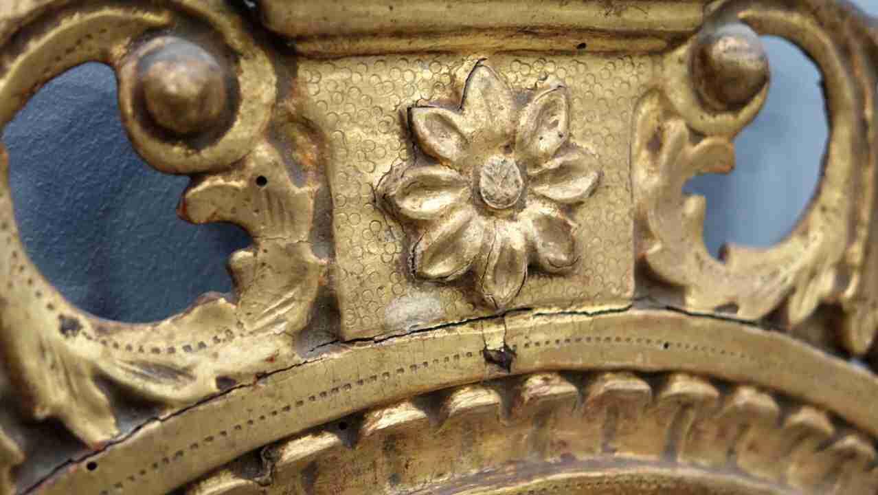 specchiera dorata neoclassica27