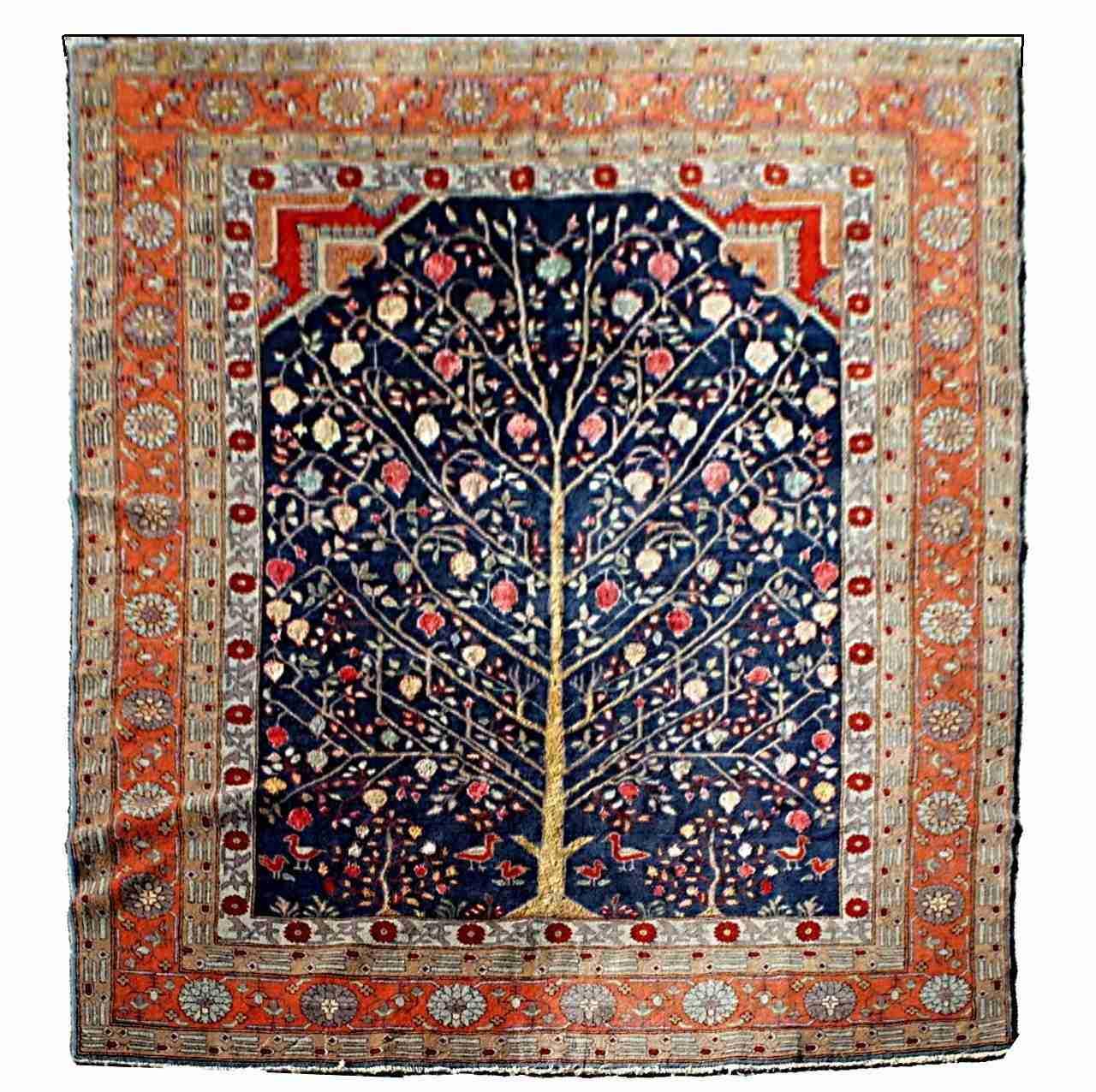 Tappeto albero della vita 0350011 17 - Tappeto di giunchi ...