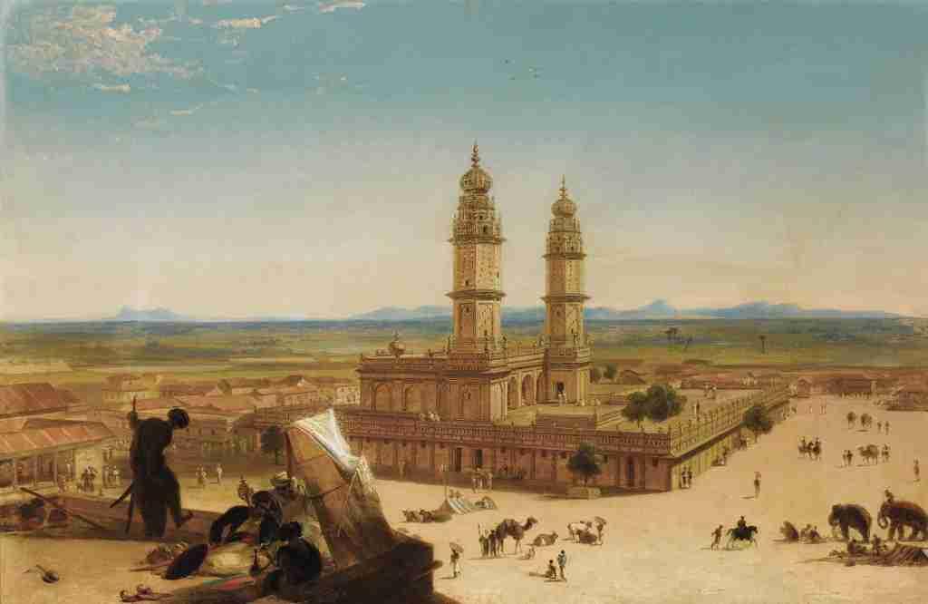Alberto_Pasini_(attr.)_-_Oriental_landscape_with_Mosque