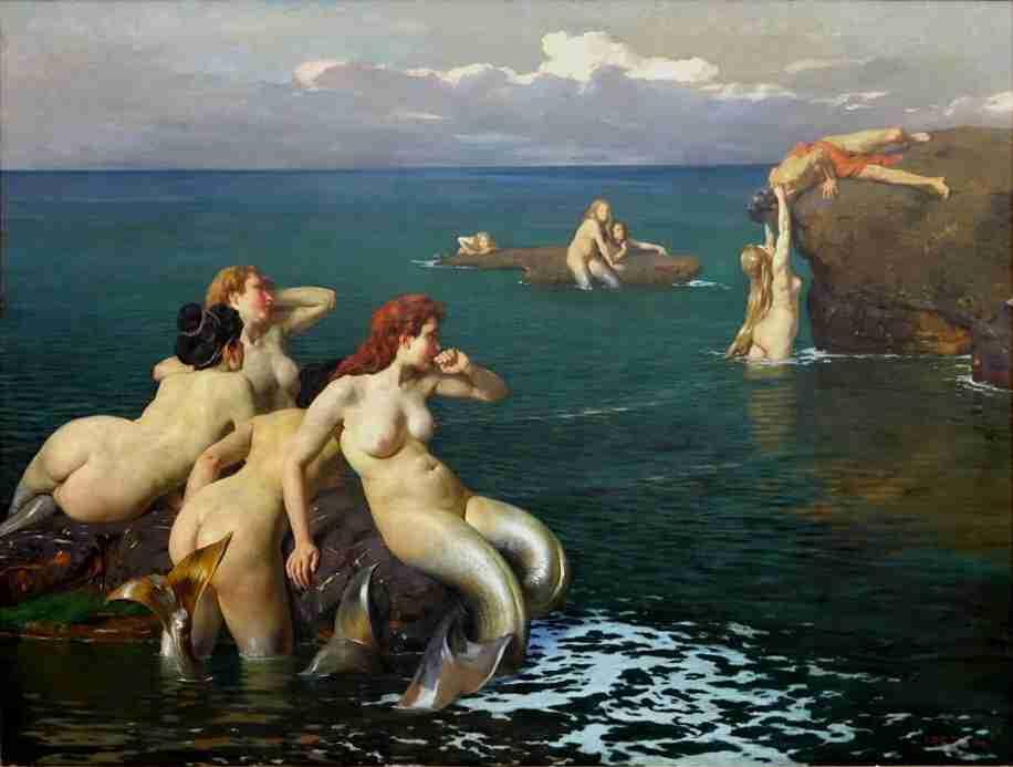 Cesare Viazzi Le Sirene_10