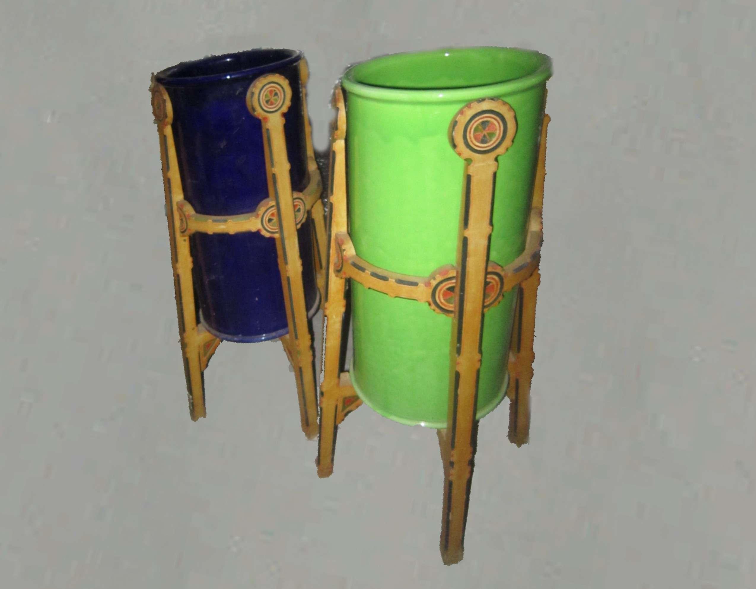 Ernesto Basile designer, mobili, ceramiche e arredi