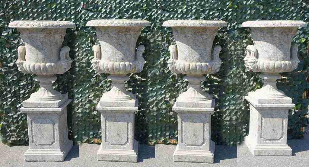 Arredo giardino statue giardino 4 stagioni vasi leoni for Arredo giardino vicenza