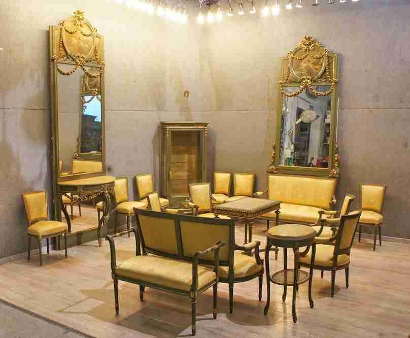 Ernesto basile designer mobili ceramiche e arredi for Mobili liberty siciliano