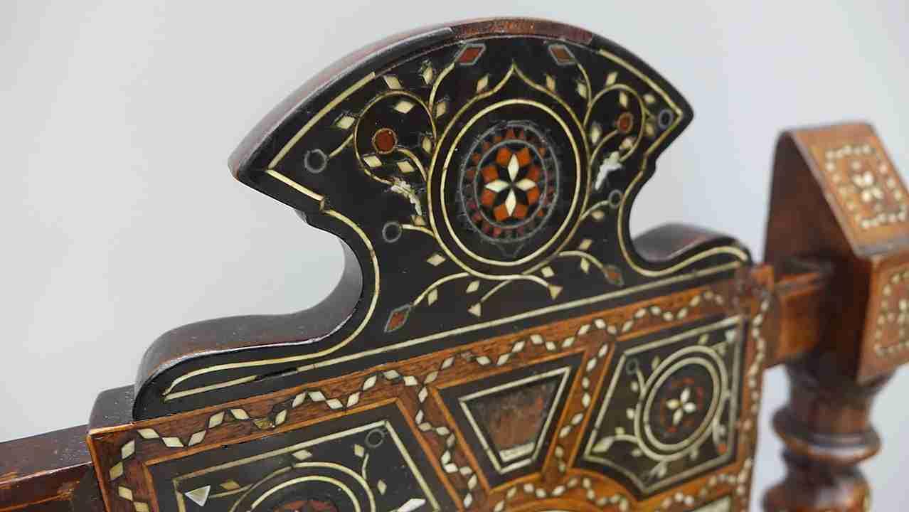 sedie intarsiati avorio 27