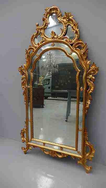 specchiera dorata 11