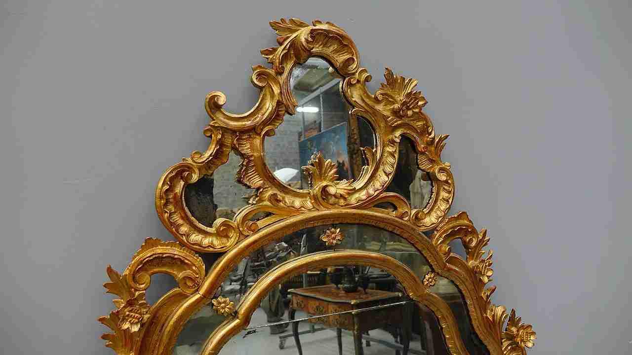 specchiera dorata 12