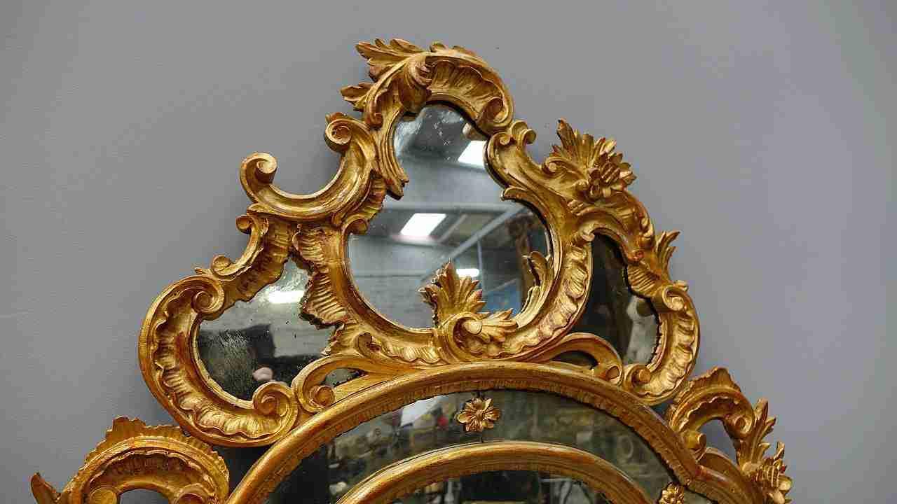 specchiera dorata 17