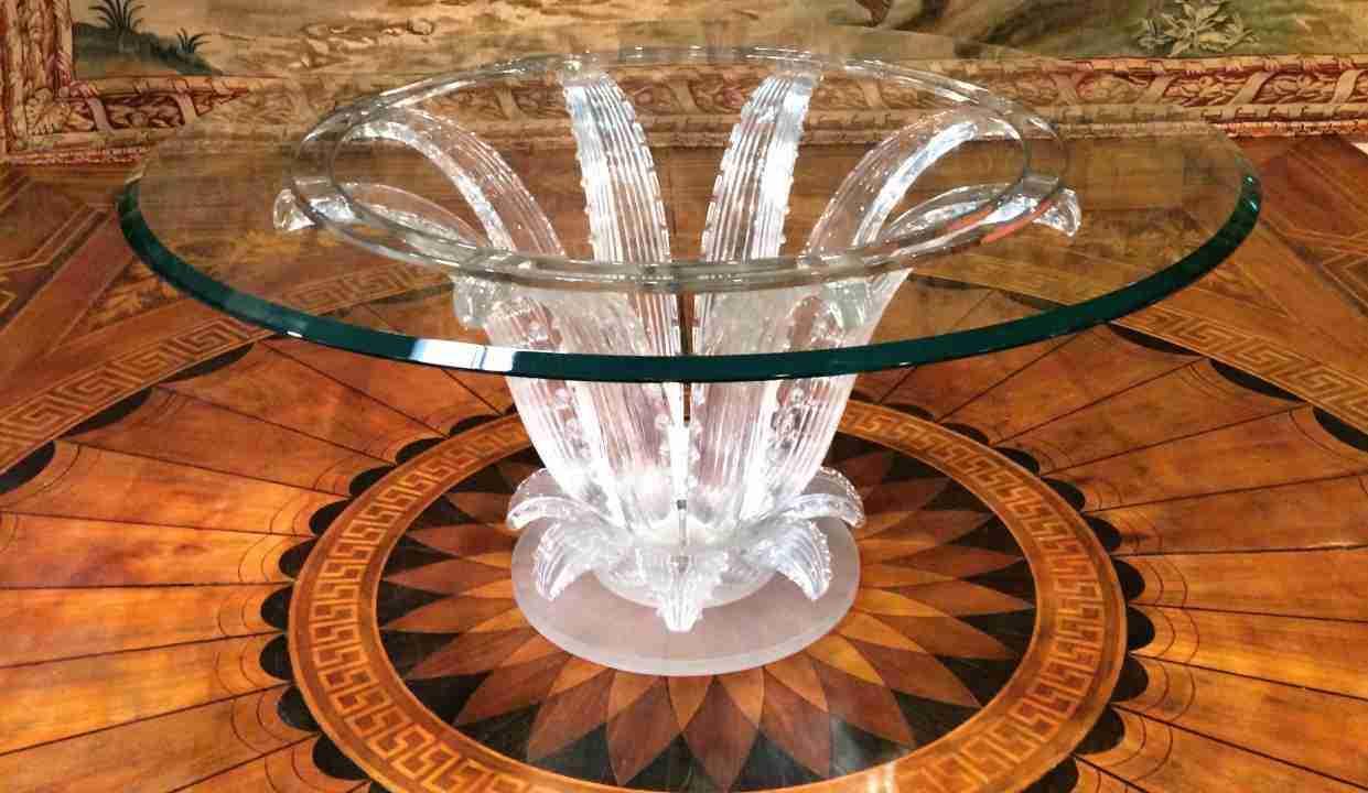 Tavolo da pranzo Lalique