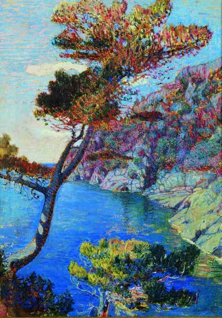 Merello-Rubaldo---Il-promontorio-di-Portofino-1914-GAM