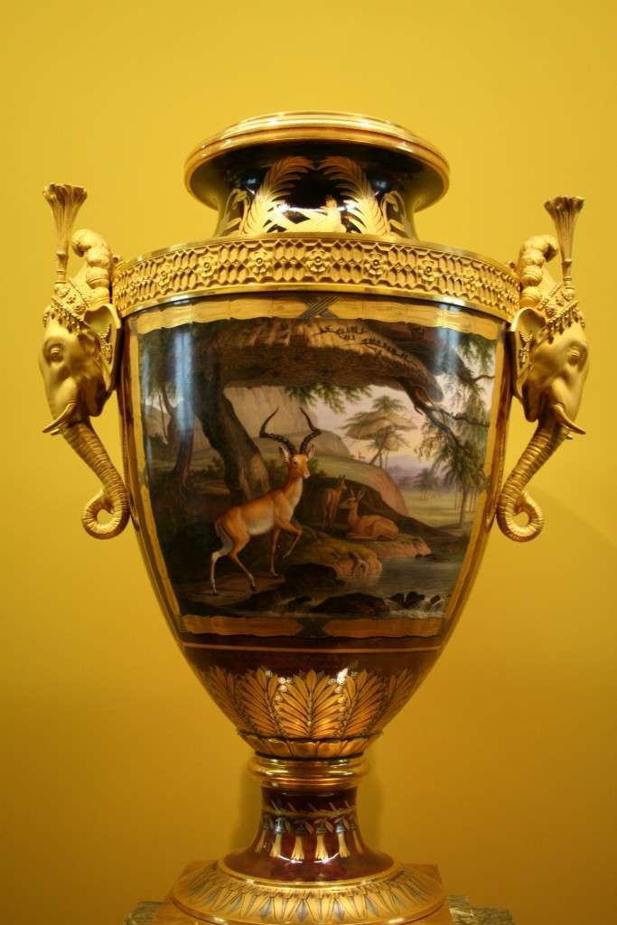 Vaso Clodion, Museo del Louvre