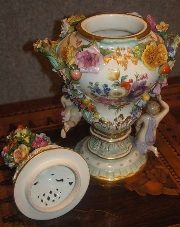 Vasi porcellana Meissen  2