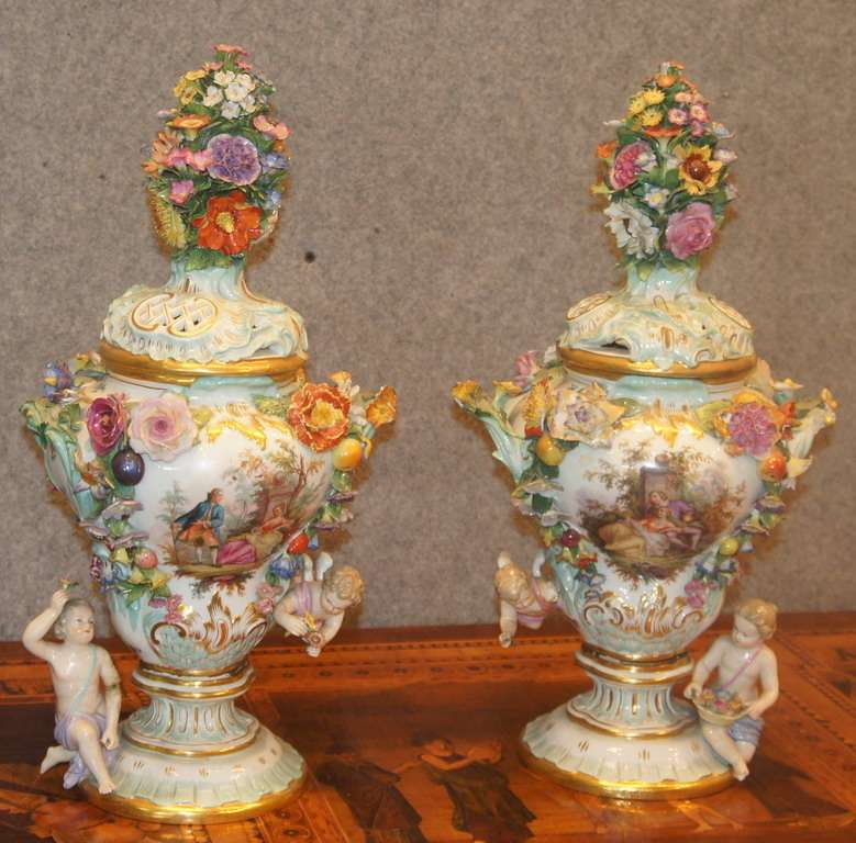 Vasi porcellana Meissen 1