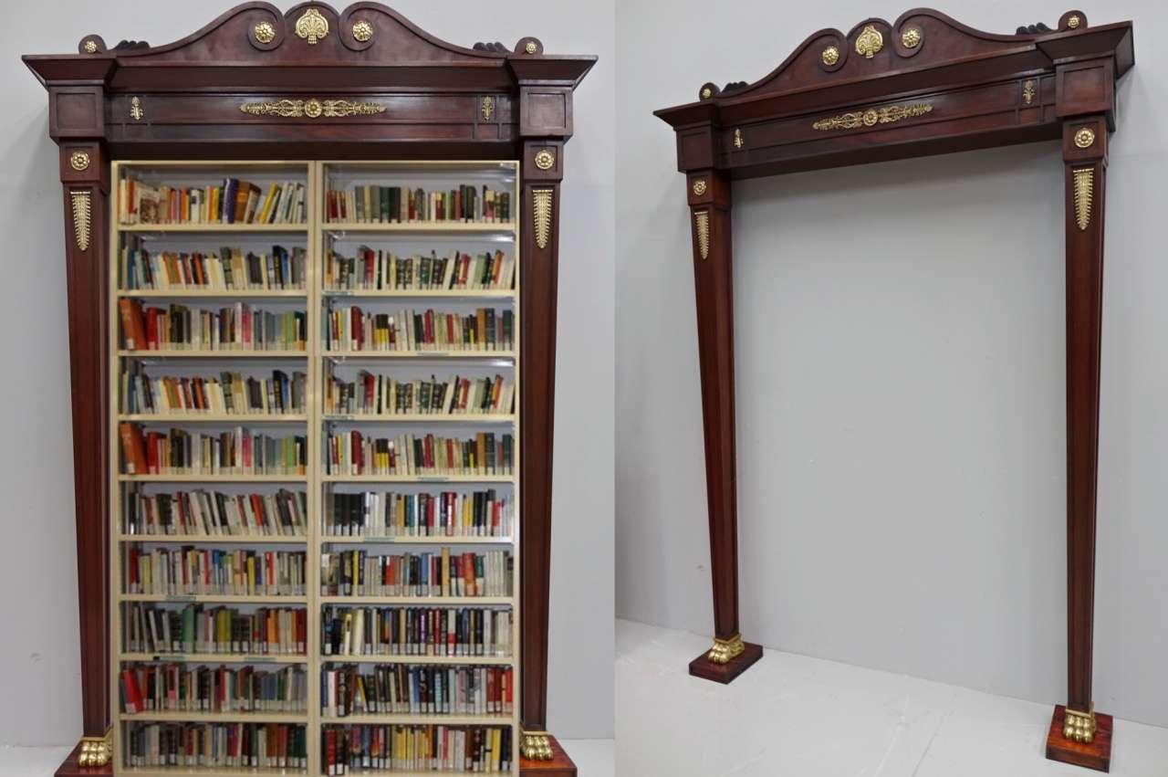 Portale cornice impero libreria  0669001