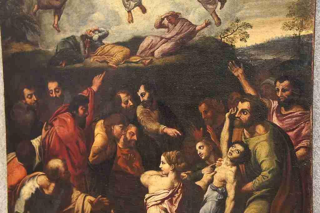 Dipinto soggetto sacro 3