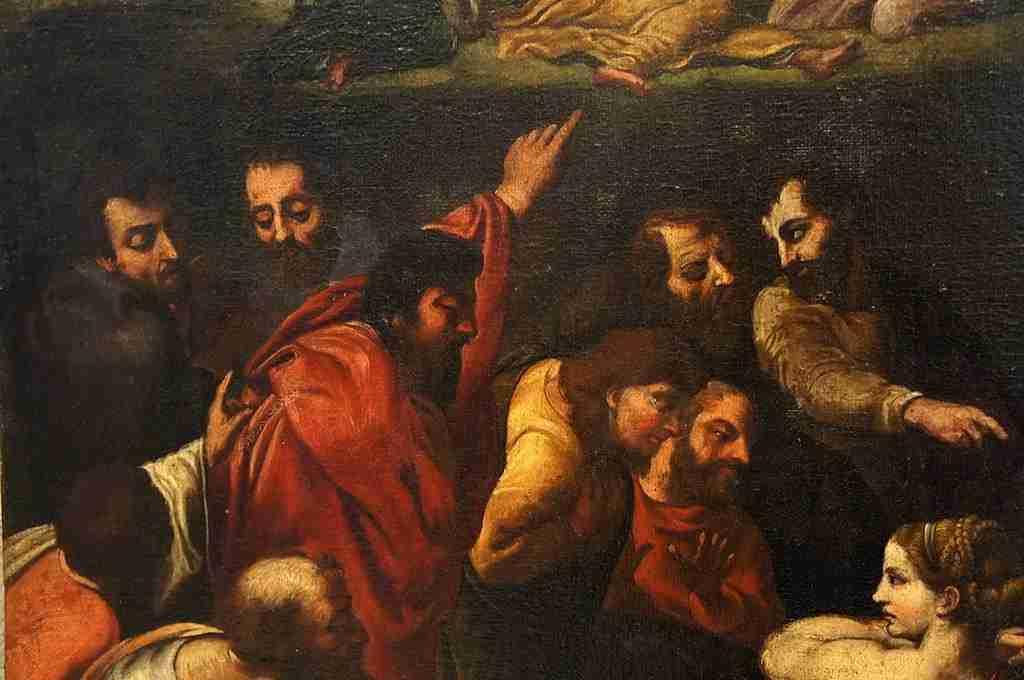 Dipinto soggetto sacro 5