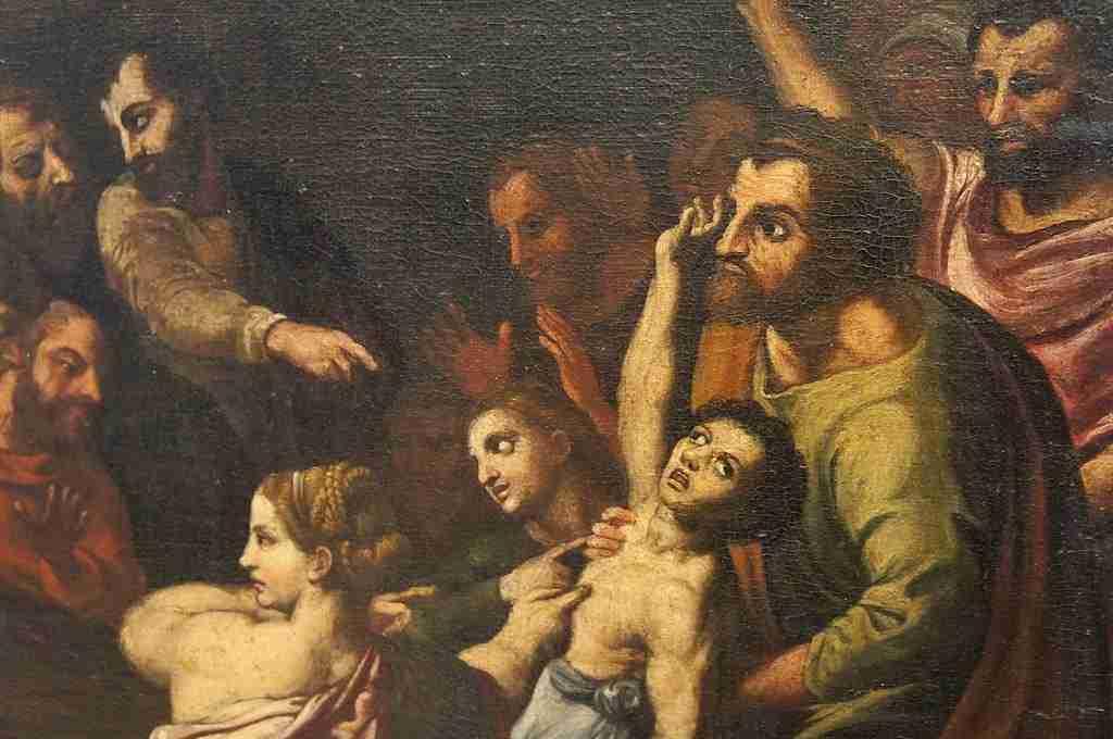 Dipinto soggetto sacro 6