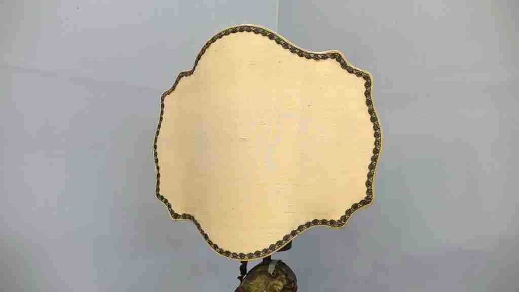lampada legno Luigi XIV  3