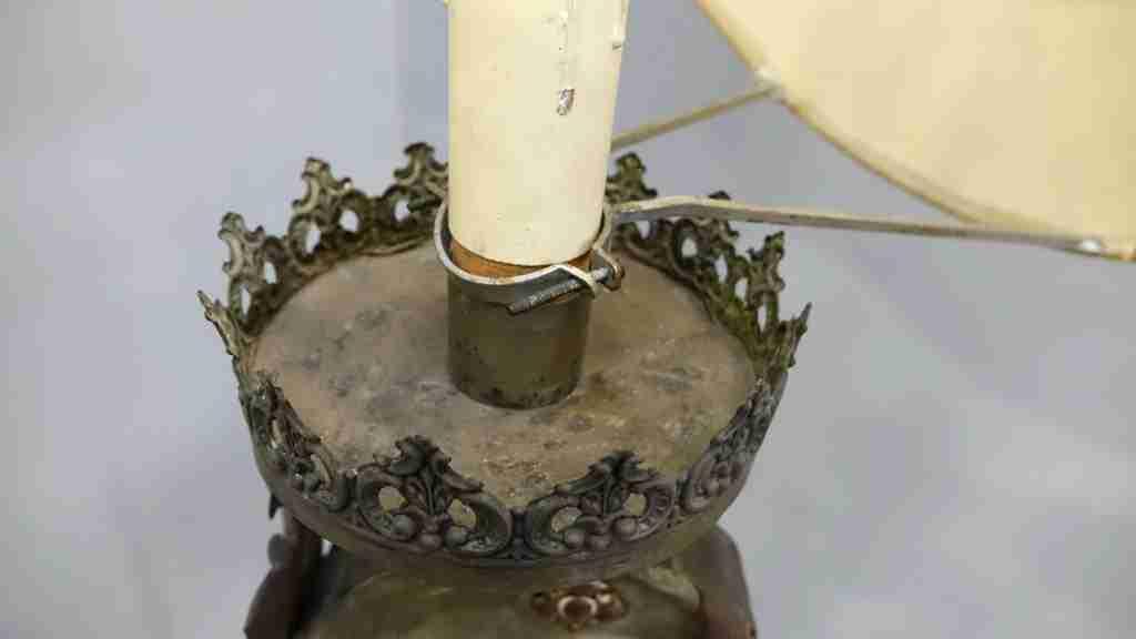 lampada legno Luigi XIV 10