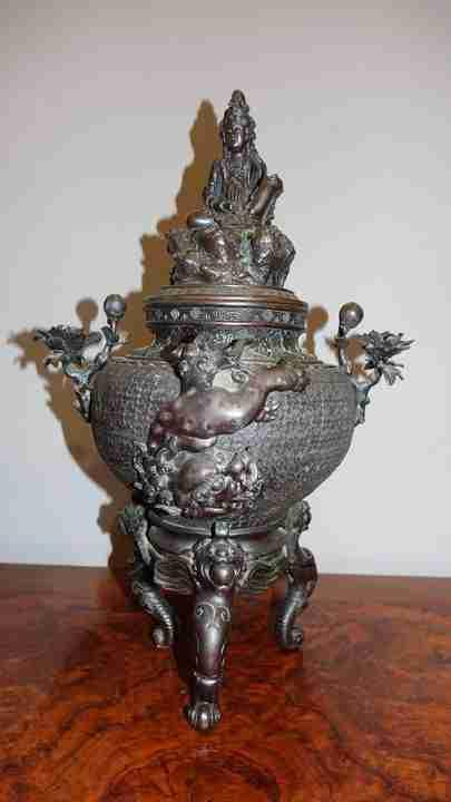 vaso bronzo orientale 2