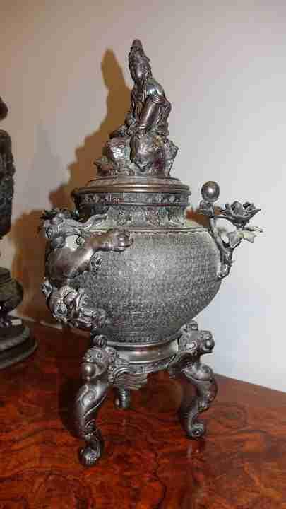 vaso bronzo orientale 3
