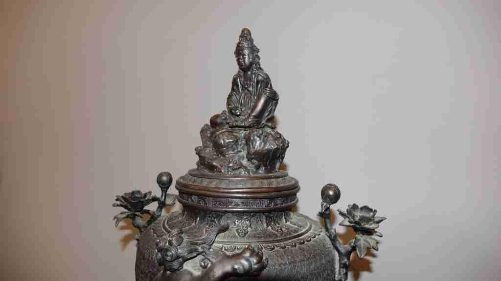 vaso bronzo orientale 4