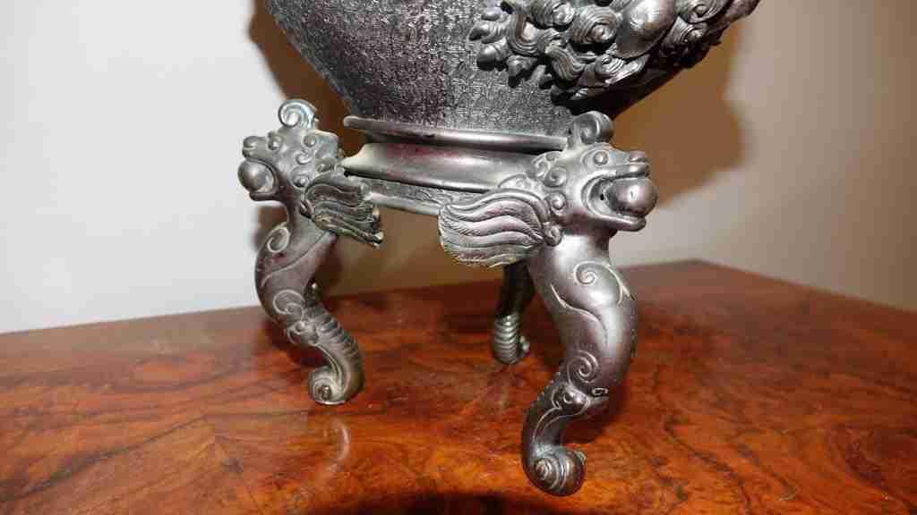 vaso bronzo orientale 6