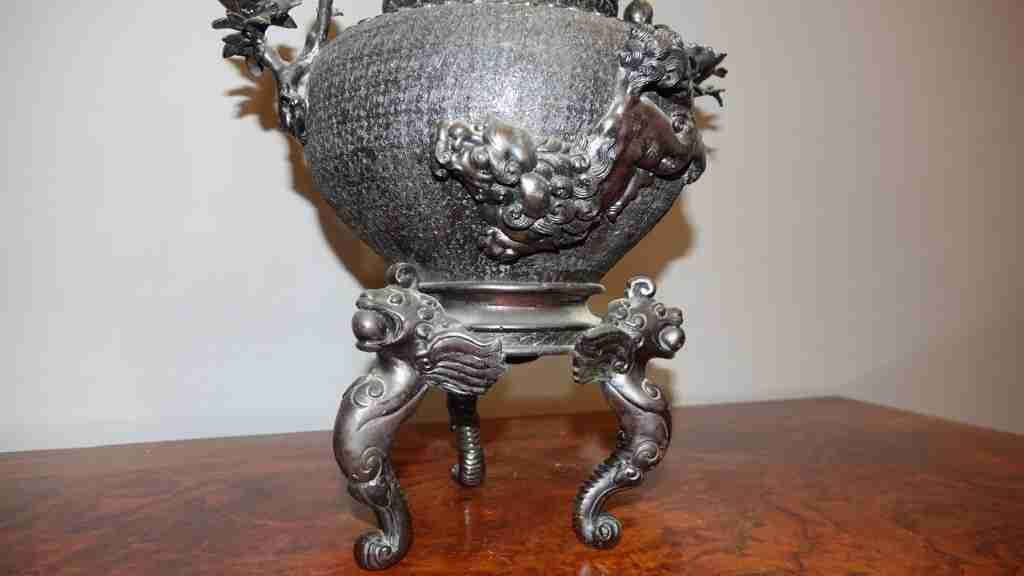 vaso bronzo orientale 11