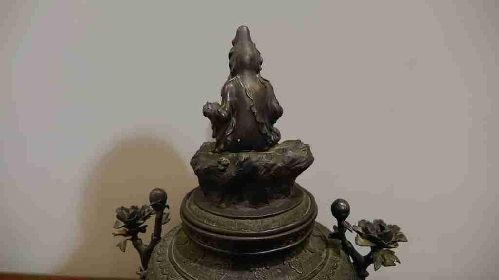 vaso bronzo orientale 13