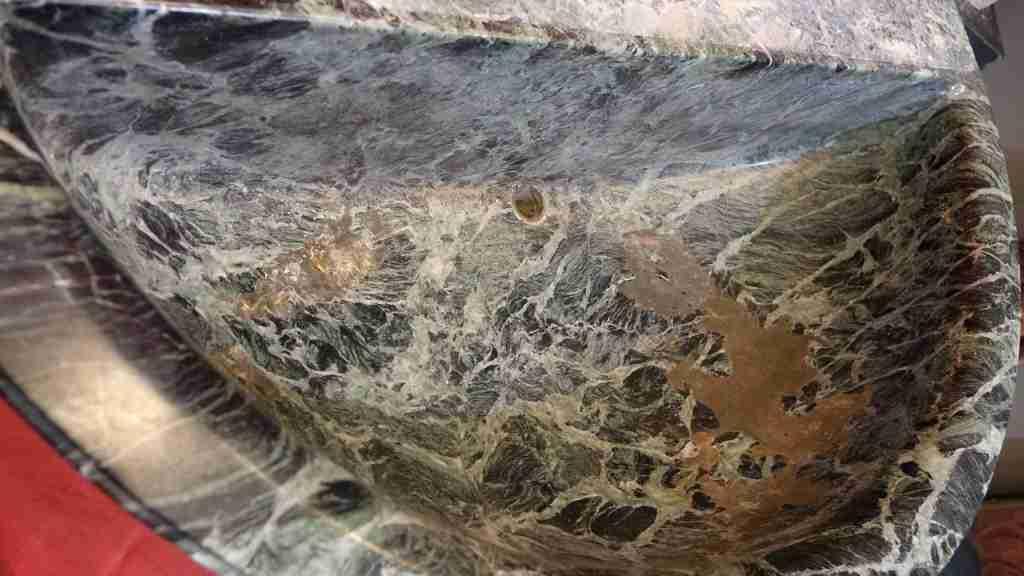 lavandino marmo verde 6