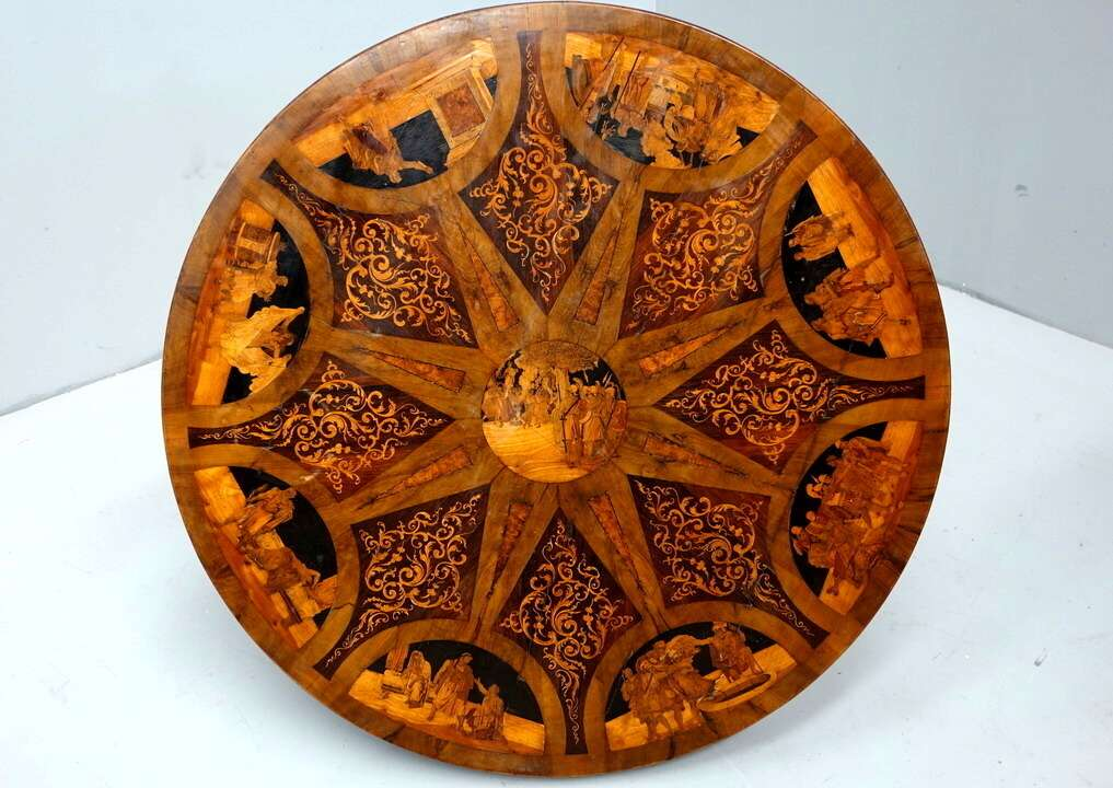 Clemente Boeri inlaid table
