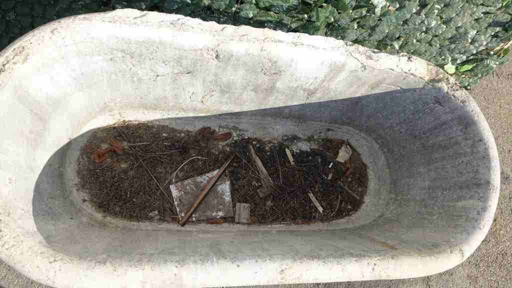 vasca pietra giardino 8