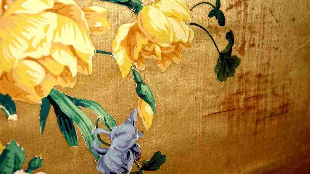 Pannelli in seta Luigi XIV primi 700 7