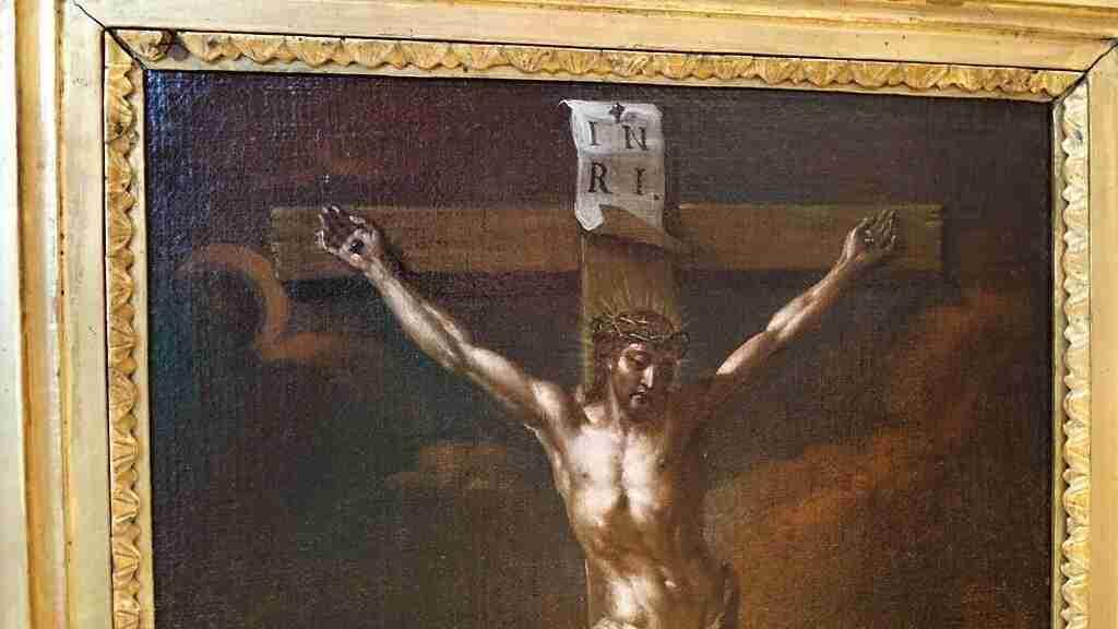 Dipinto Crocifissione 700 5