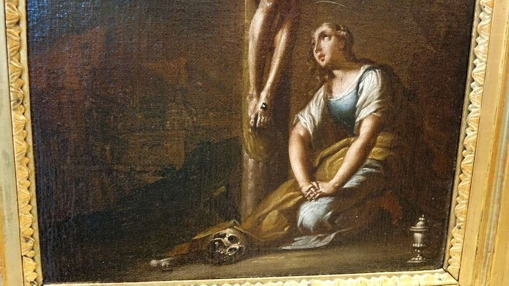 Dipinto Crocifissione 700 4