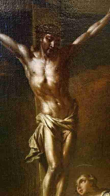 Dipinto Crocifissione 700 2