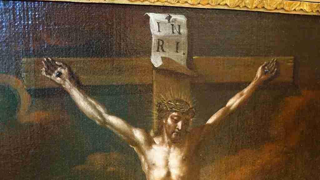 Dipinto Crocifissione 700 6