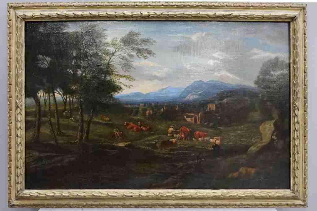 dipinto olio su tela 10