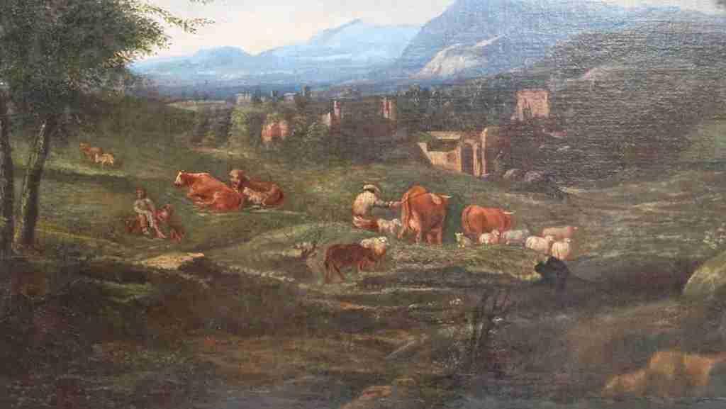 dipinto olio su tela 11