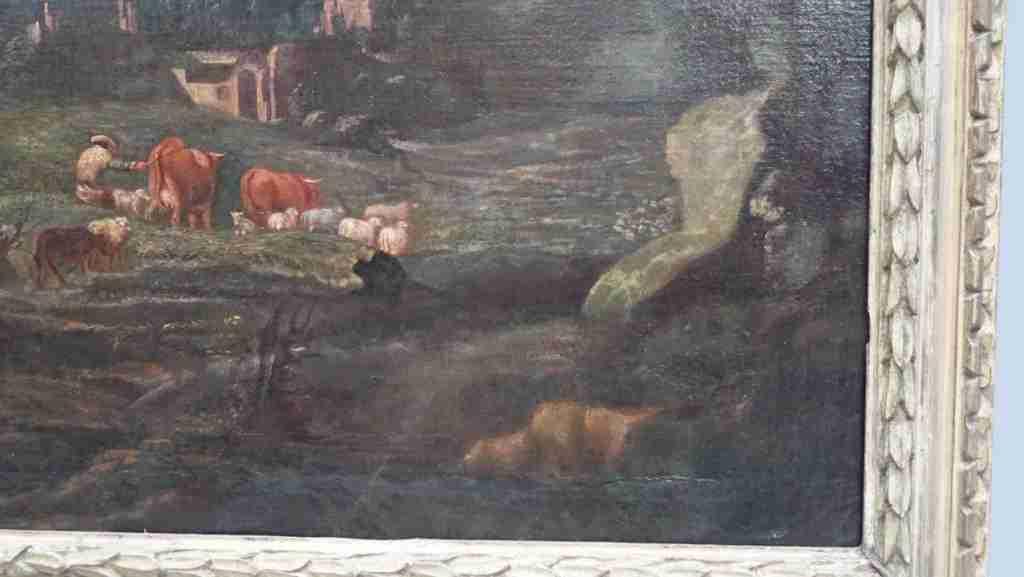 dipinto olio su tela 13