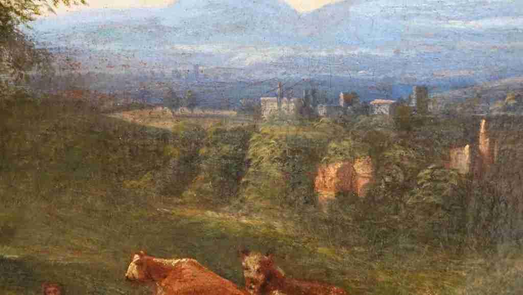 dipinto olio su tela 18