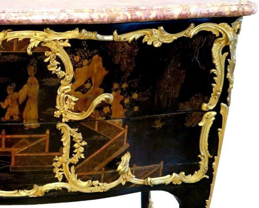 Commode firmata Jacques Dubois  collezione Onassis