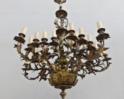 Outlet - Gilded bronze chandelier - Clearance / Clearance