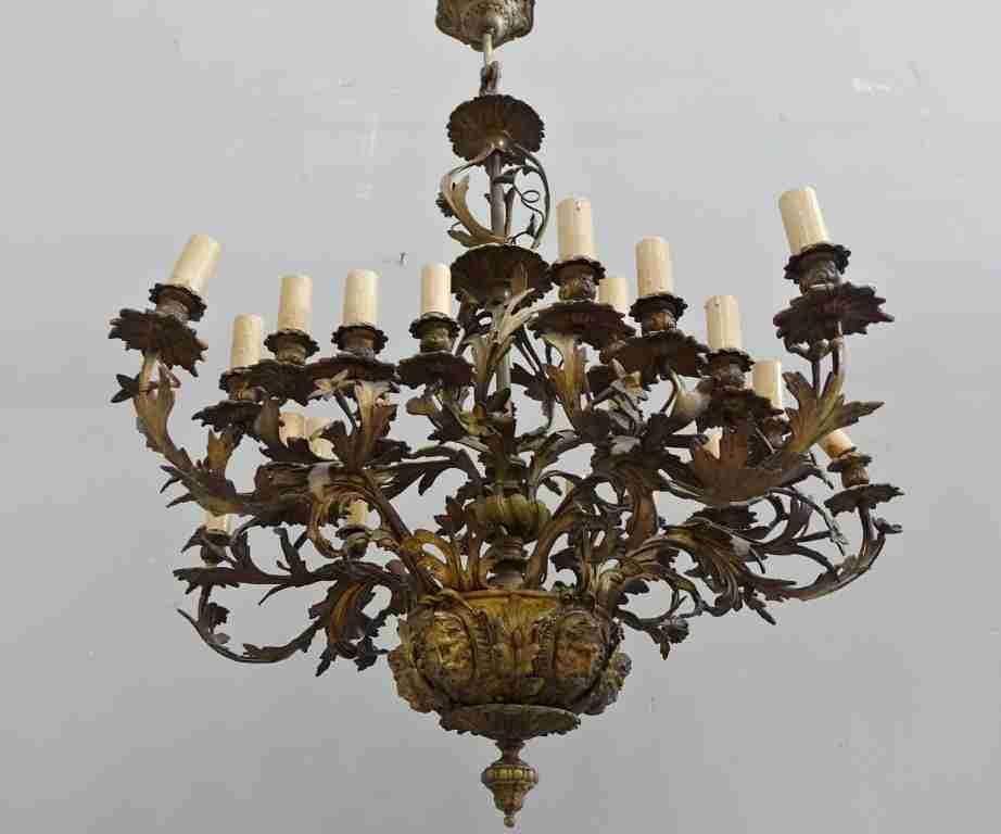 Lampadari Stile Impero: Lampadario Mongolfiera Vintage: Rara Coppia Luci