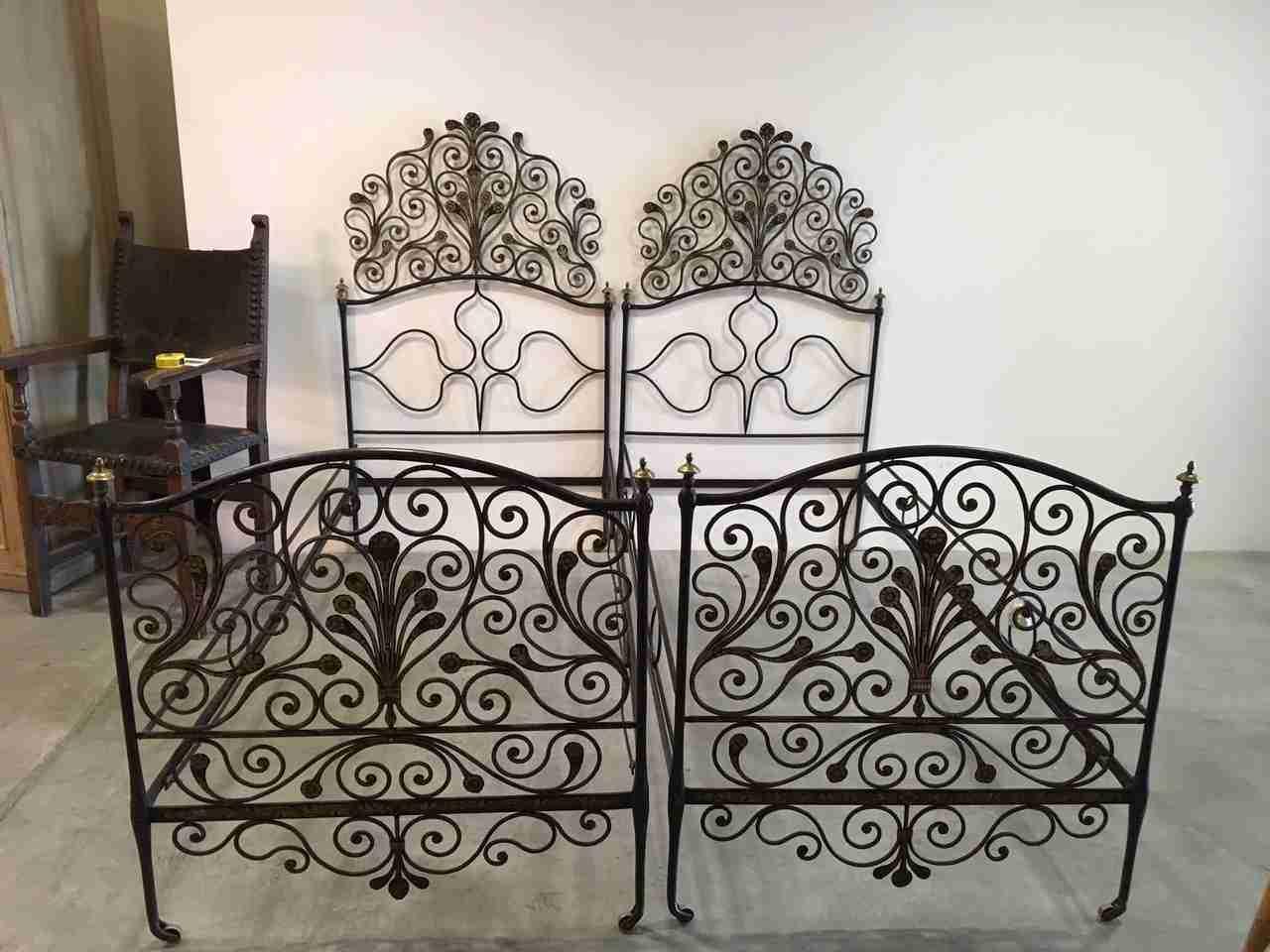 Camera da letto matrimoniale - Camera da letto ferro battuto ...
