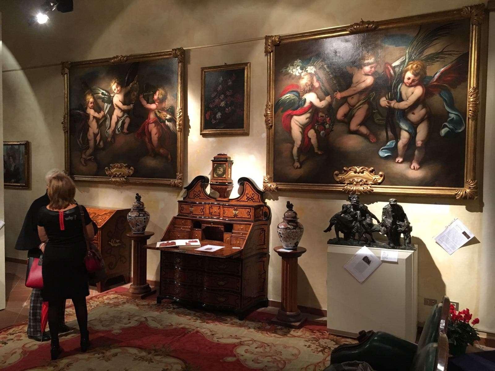 Mostra di arte e antiquariato Palazzo Guidobono Tortona