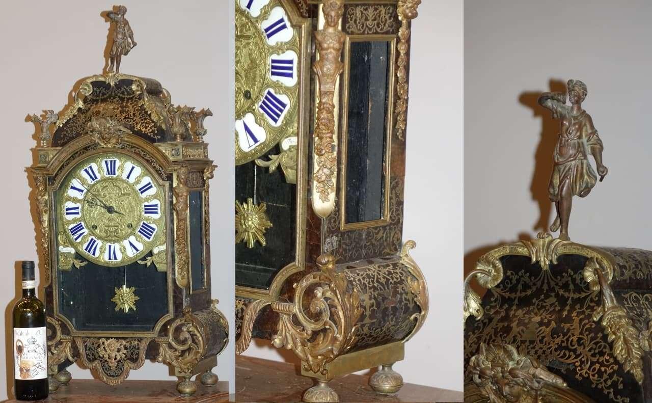 Orologio Boulle Boucheret Paris