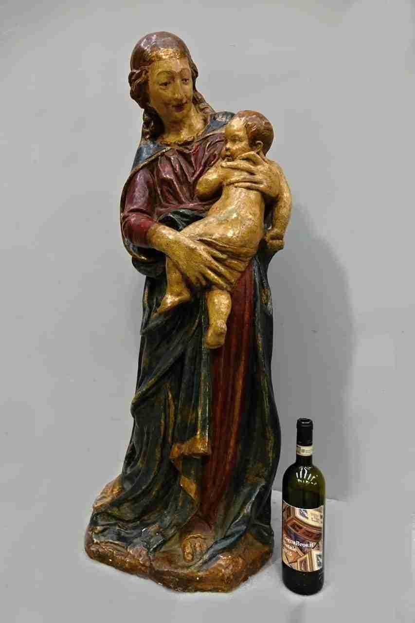 Sant'Anna con il Bambino Terracotta policroma epoca 500 1169001 ...