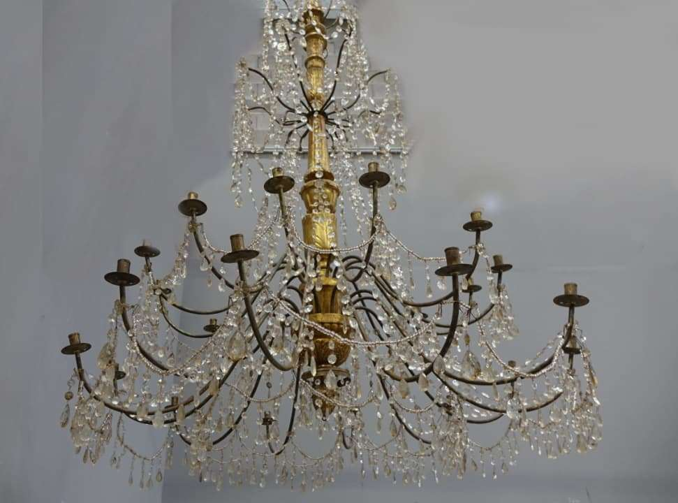 Lampadario genovese  Luigi XVI