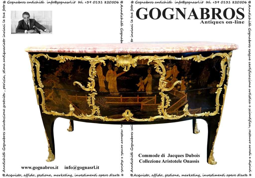 Commode Jacques Dubois Collezione Onassis